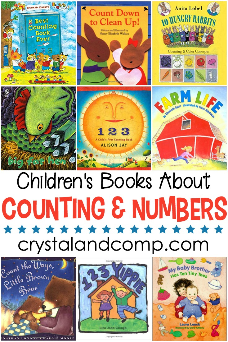 books children must read counting and numbers