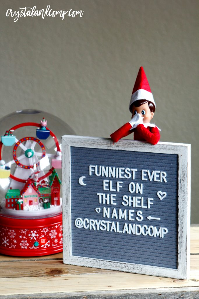 elf on the shelf names list
