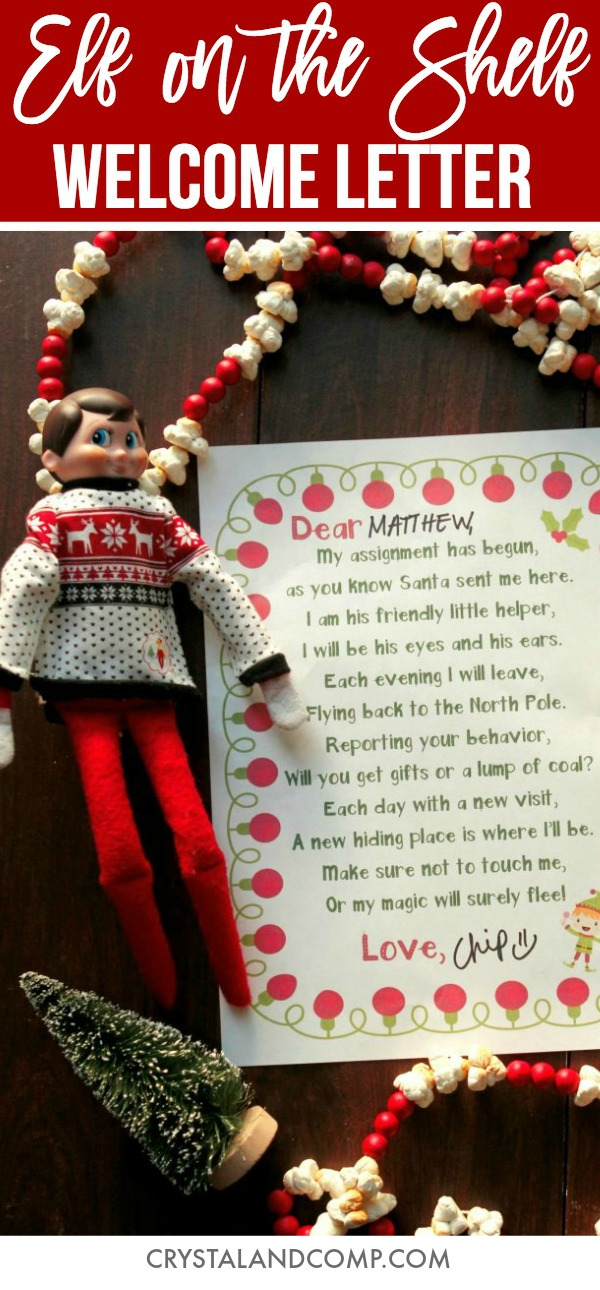 looking for ways to welcome your elf this one is perfect for his arrival night every year