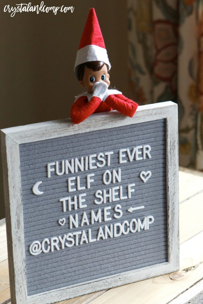best elf on the shelf names
