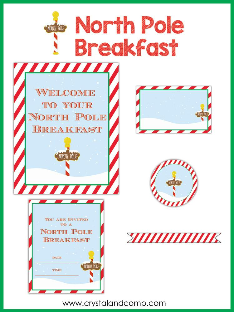 North Pole Welcome Breakfast