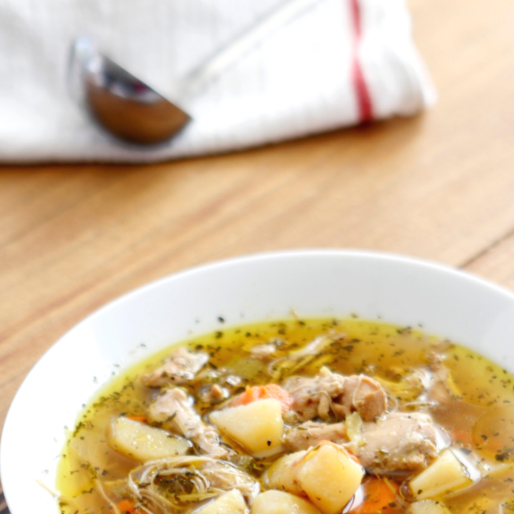 Whole30 Instant Pot Chicken Soup