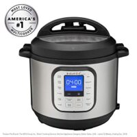 Instant Pot® Duo™ Nova™ 6-Quart 7-in-1, One-Touch Multi-Use Programmable Pressure Cooker, Slow Cooker, Rice Cooker, Steamer, Sauté, Yogurt Maker and Warmer with New Easy Seal Lid