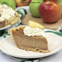 Easy Apple Butter Pie Recipe