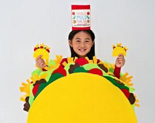 No-Sew Felt Taco Costume