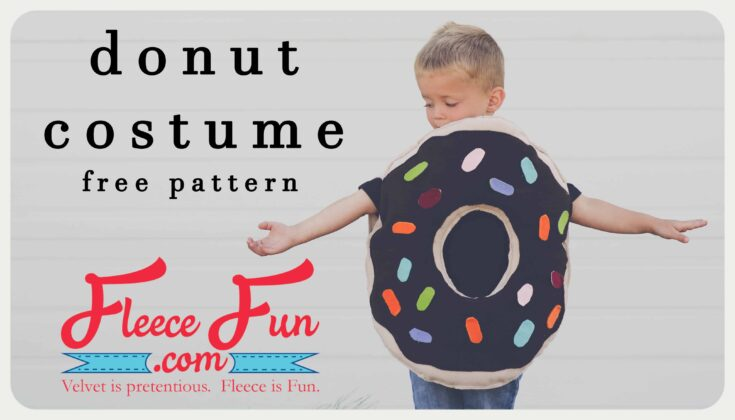 Easy Donut Costume