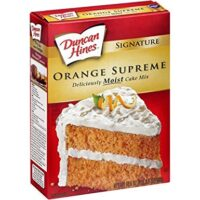 Duncan Hines Signature Supreme Cake Mix, Orange, 16.5 oz