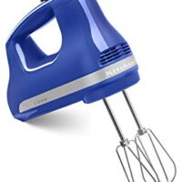 KitchenAid KHM512TB 5-Speed Hand Mixer, Twilight Blue