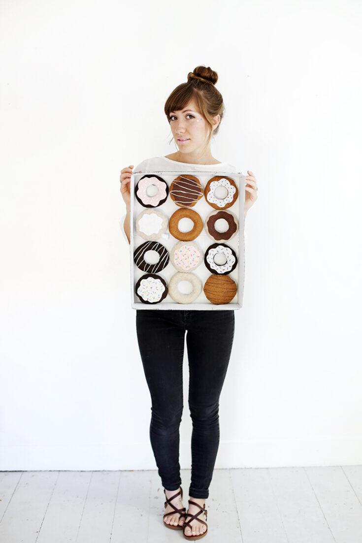DIY Dozen Donuts Costume