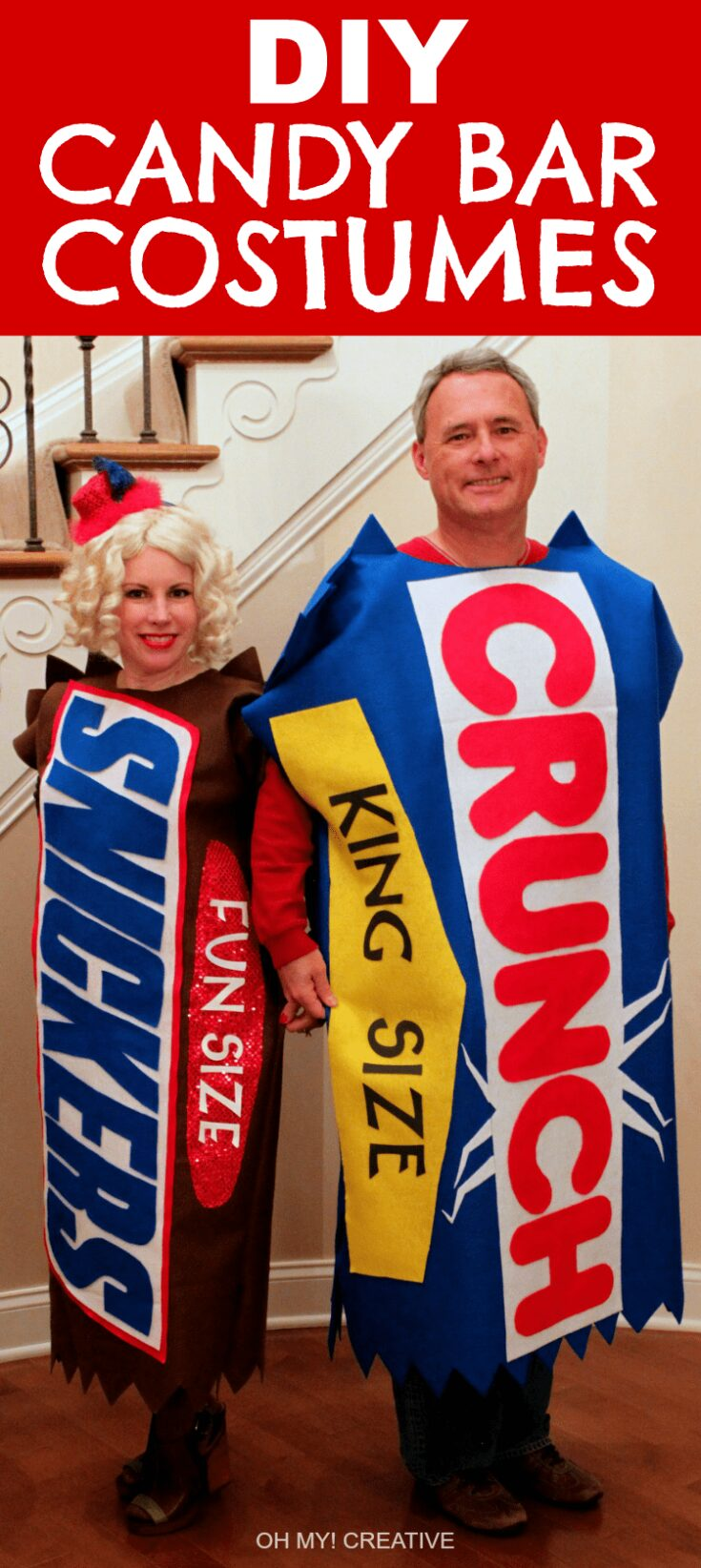 DIY Candy Bar Halloween Costumes