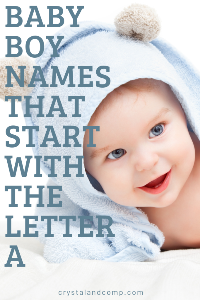 23++ Baby boy names which starts with a ideas