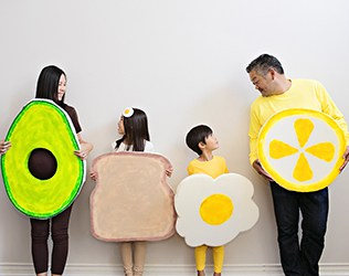 Family Avocado Toast Costume