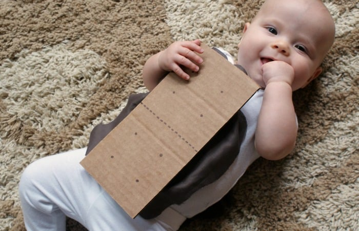 5-Minute S'mores Baby Costume
