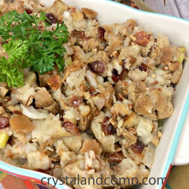 Homemade Southern Stuffing Instant Pot Recipe