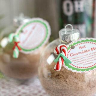 Homemade Hot Chocolate Ornament