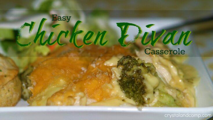 Easy Chicken Divan Casserole