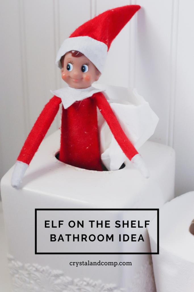 Elf On The Shelf Ideas Using Toilet Paper
