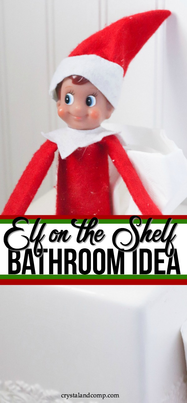 Elf on the Shelf Toilet Paper Idea
