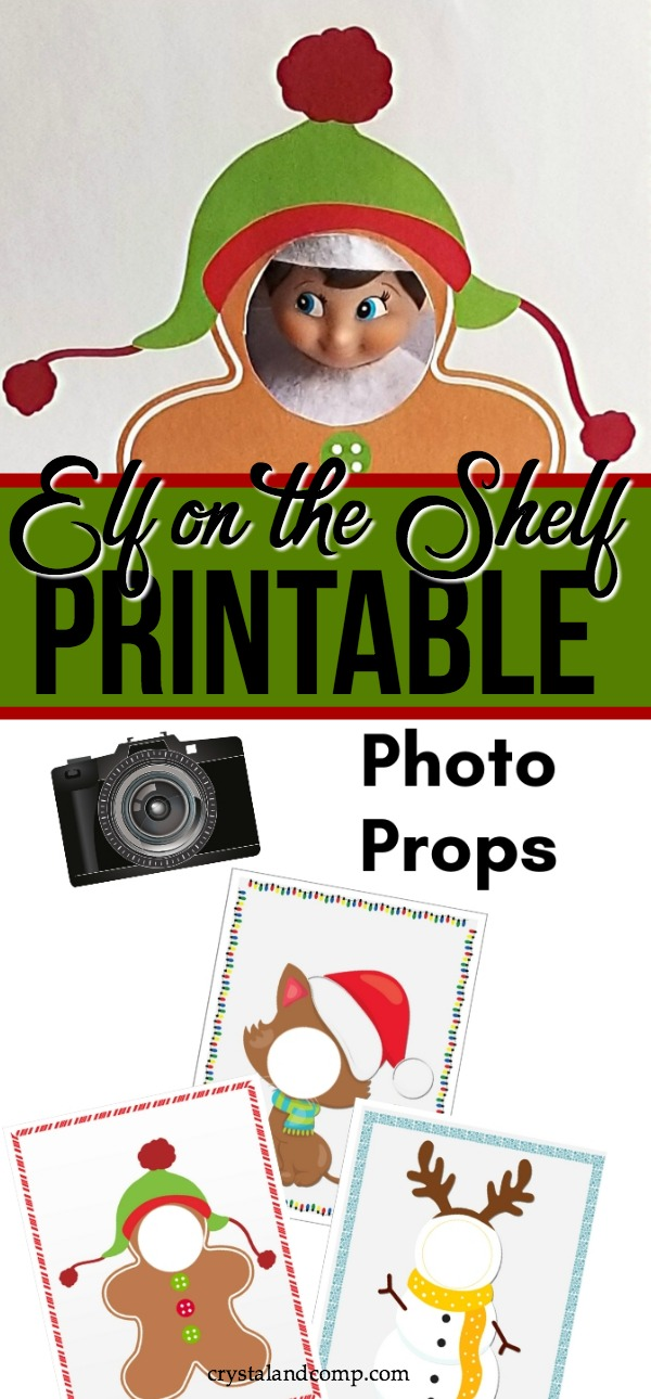 Elf Printable Photo Booth Props