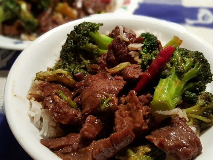 Slow Cooker Chinese Take Out Beef and Broccoli