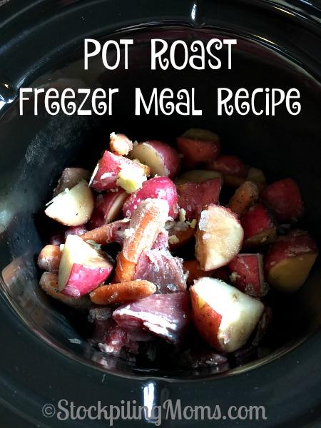 Pot Roast Freezer Meal Recipe