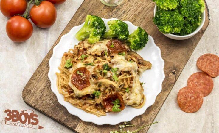 Crockpot Pizza (Slow Cooker) Recipe
