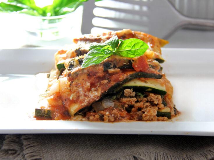 Zucchini Freezer Lasagna