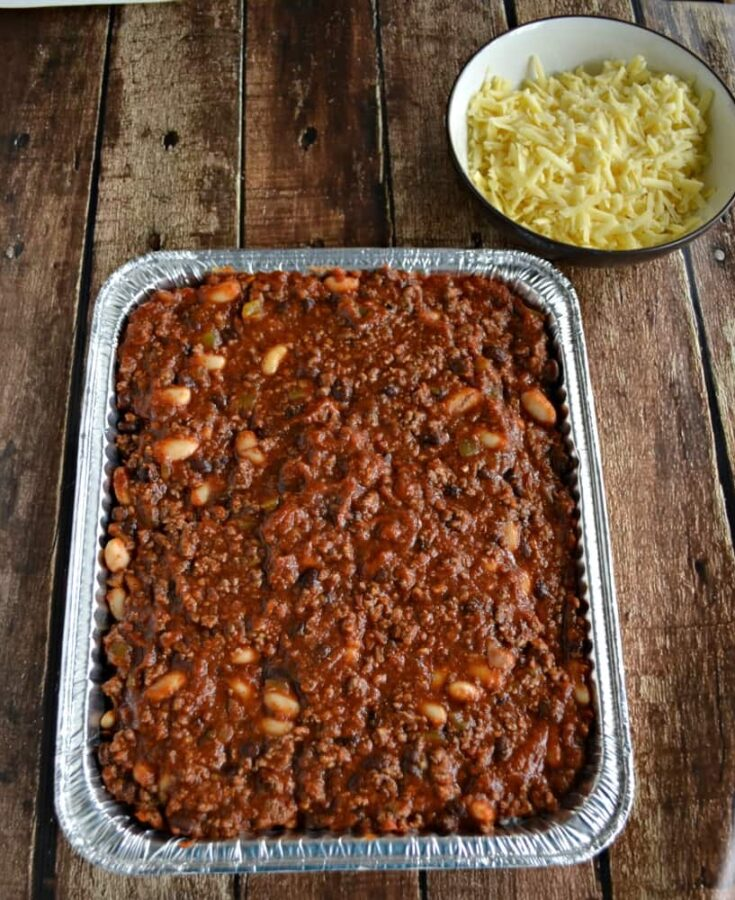 Chili and Rice Casserole {Freezer Meal}