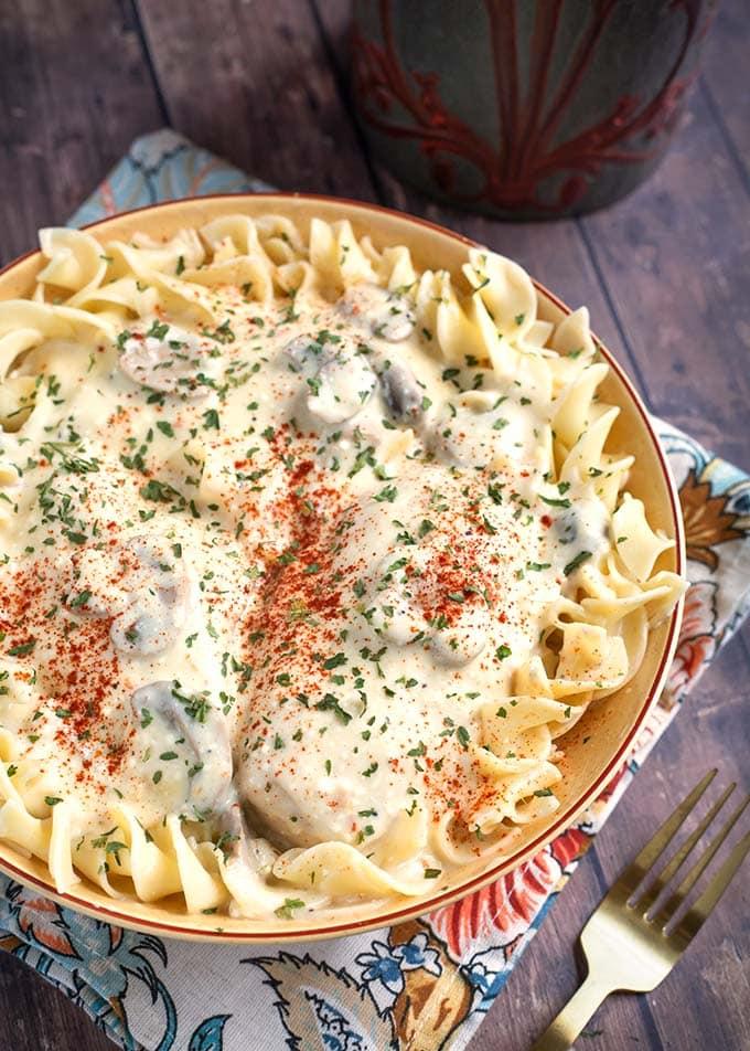 Crock Pot Creamy Chicken Breasts