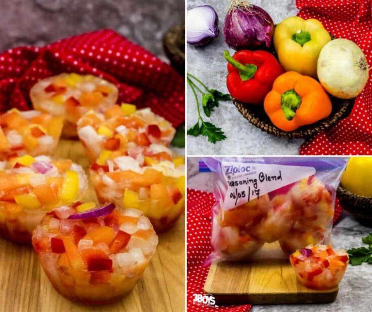 Frozen Seasoning Blend (for your freezer OAMC)