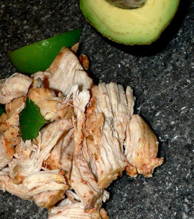 Low Carb Instant Pot Salsa Chicken