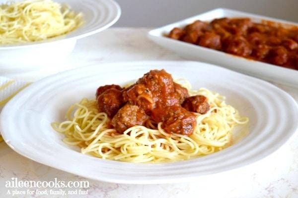 The Best Italian Meatballs (Freezer Friendly)