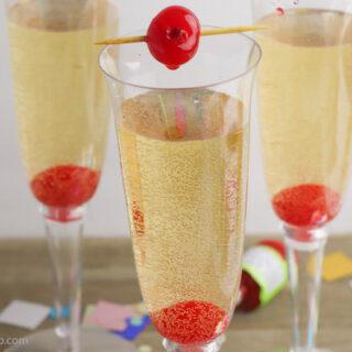 Non Alcohol Champagne Spritzer