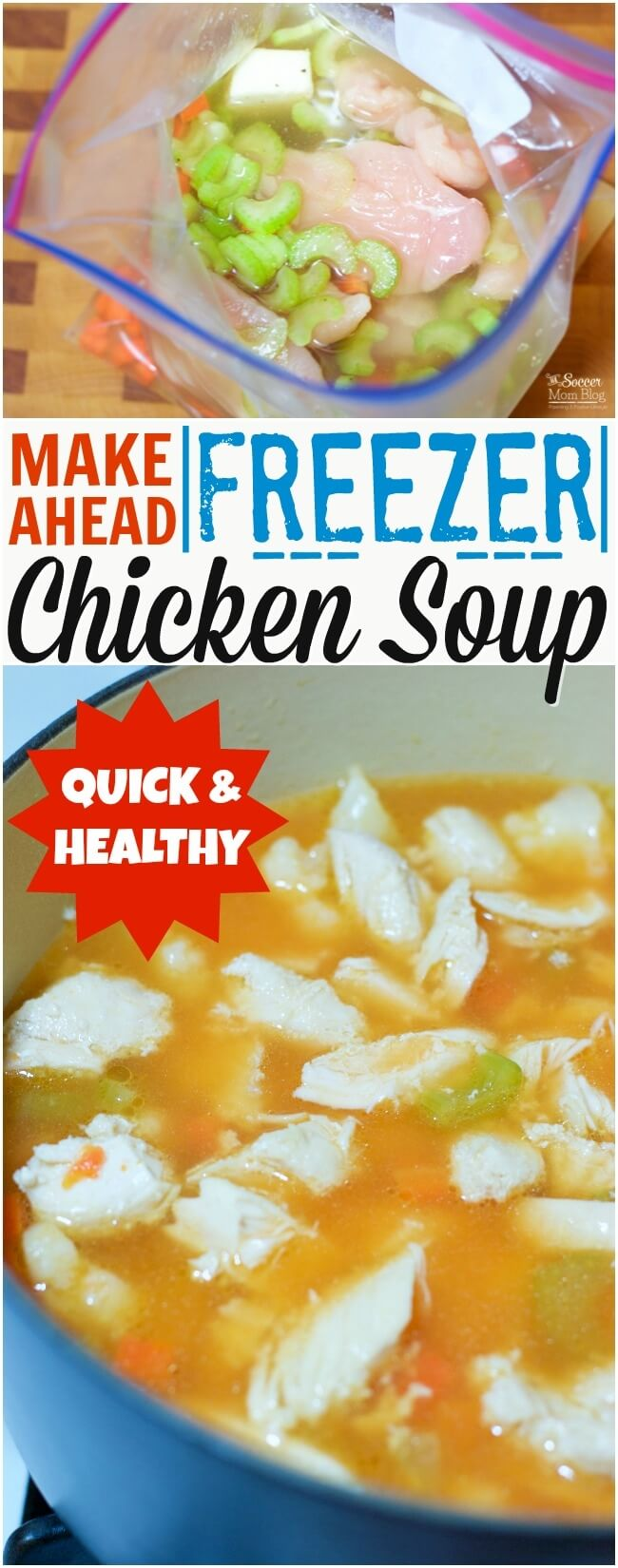 Easy 5 Minute Meal Prep Chicken Soup