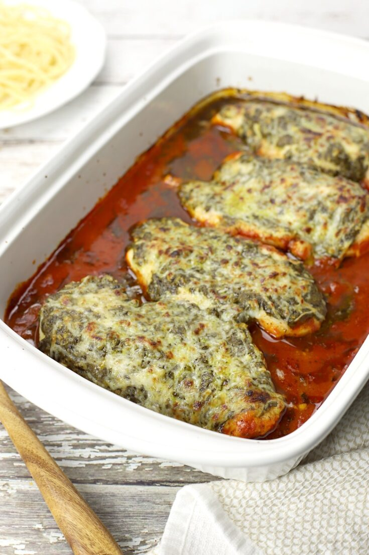 Pesto Mozzarella Chicken