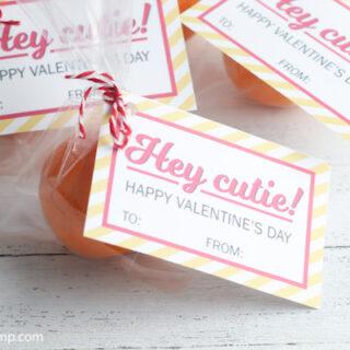 Hey Cutie Valentine Printable