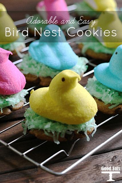 Bird Nest Easter Cookies