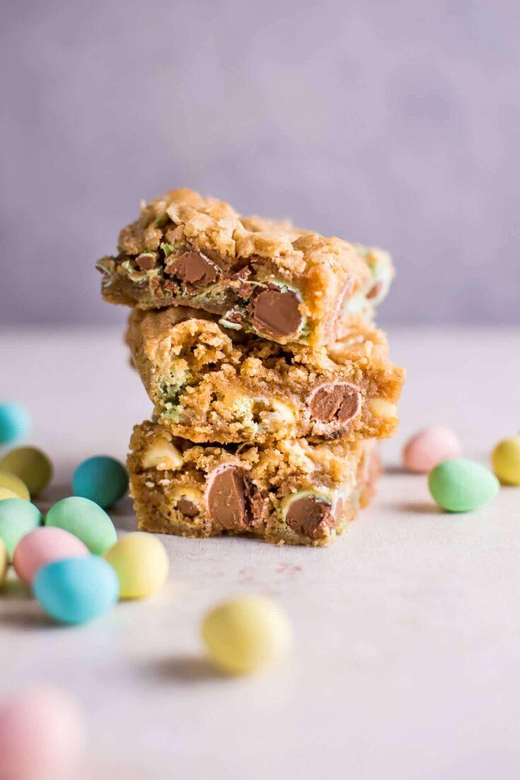 Easter Mini Egg Cookie Bars