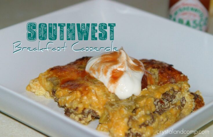 Beef Recipes: Southwest Breakfast Casserole