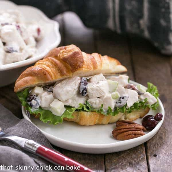Cranberry Pecan Chicken Salad for a Crowd