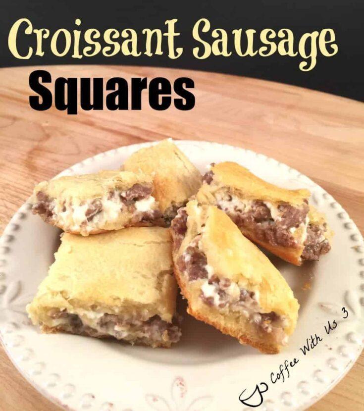 Croissant Sausage Squares