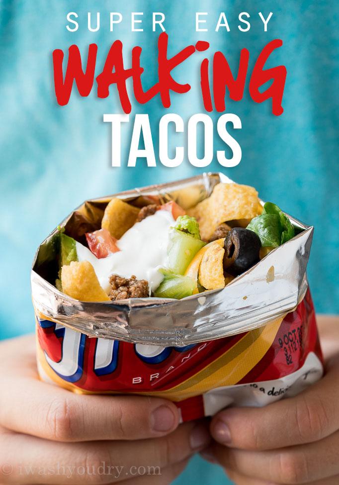 Super Easy Walking Tacos Recipe