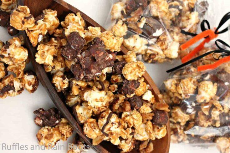 Easy Rocky Road Popcorn is a Gourmet Popcorn Treat!