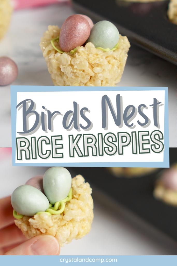 Birds Nest Rice Krispies