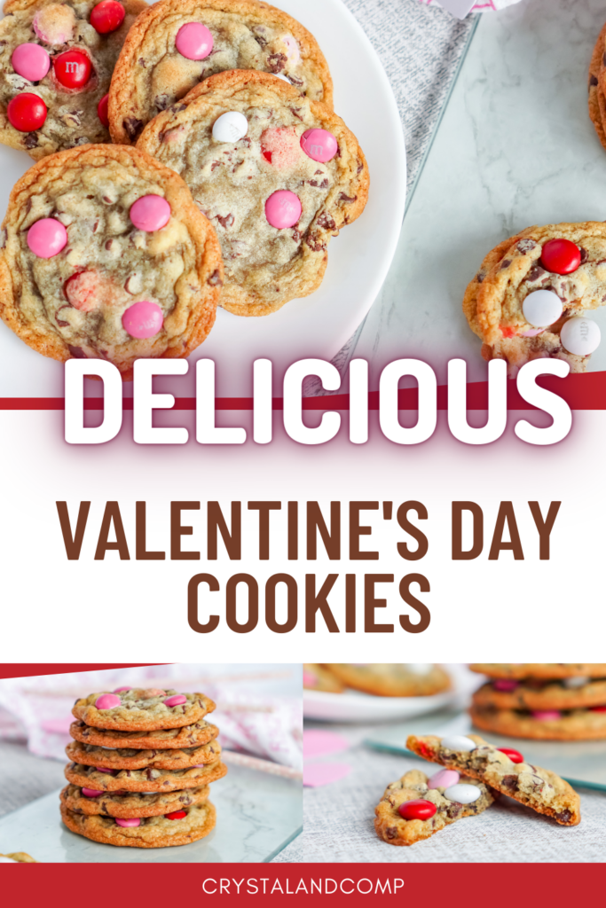 delicious valentine's day cookies