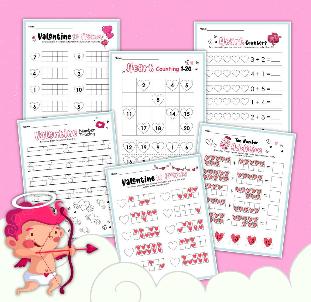 valentine printable worksheets