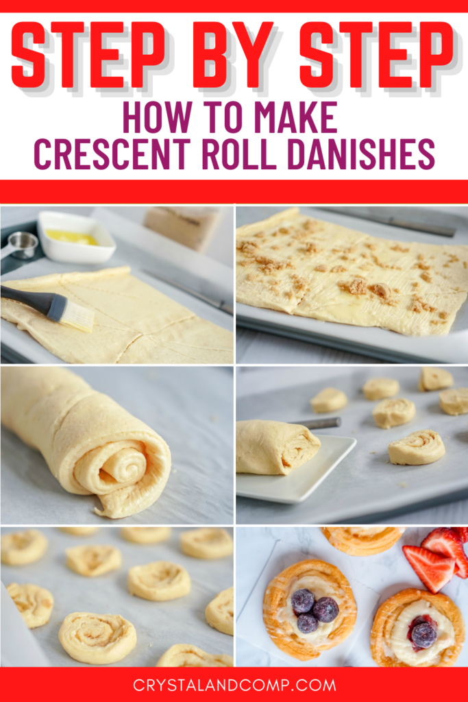 HOW TO MAKE CRESCENT ROLL DANISHES