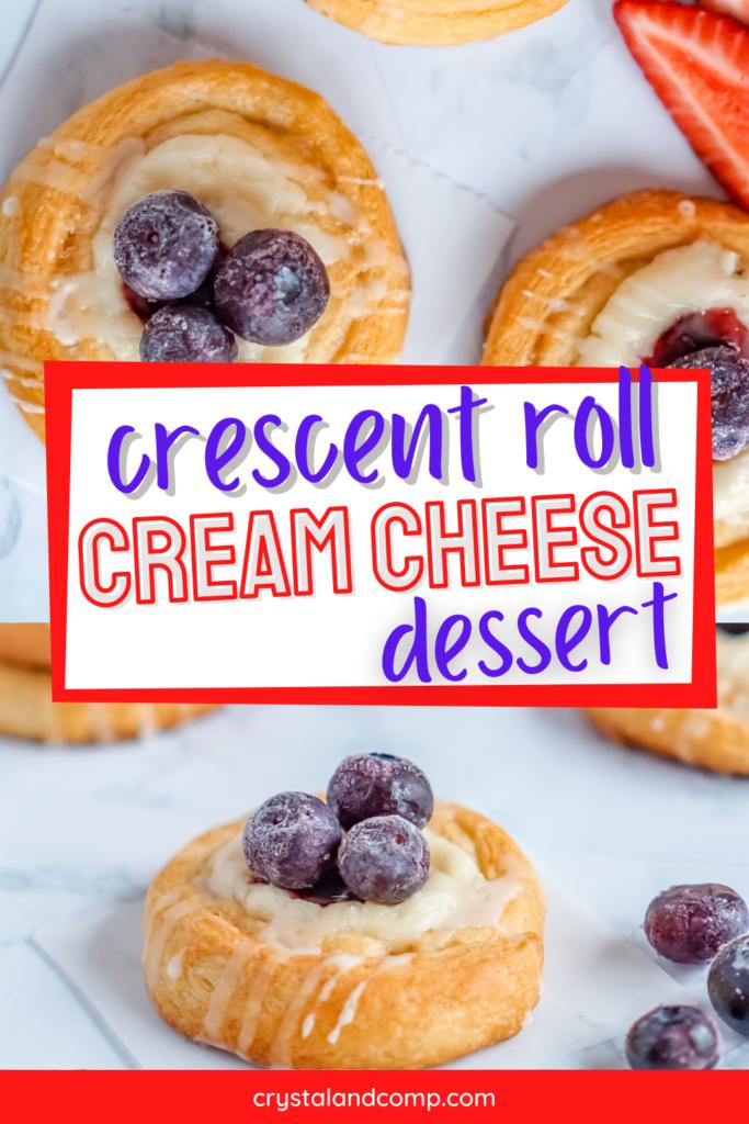 crescent roll cream cheese dessert diy